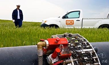 ensayos aplicados a pipelines y tanques