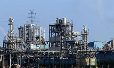 inspección equipos a presión en una refineria