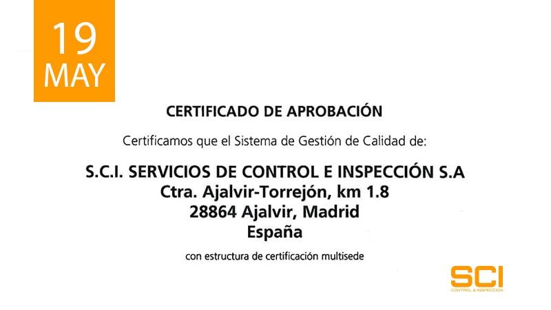 certificado de aprobacion