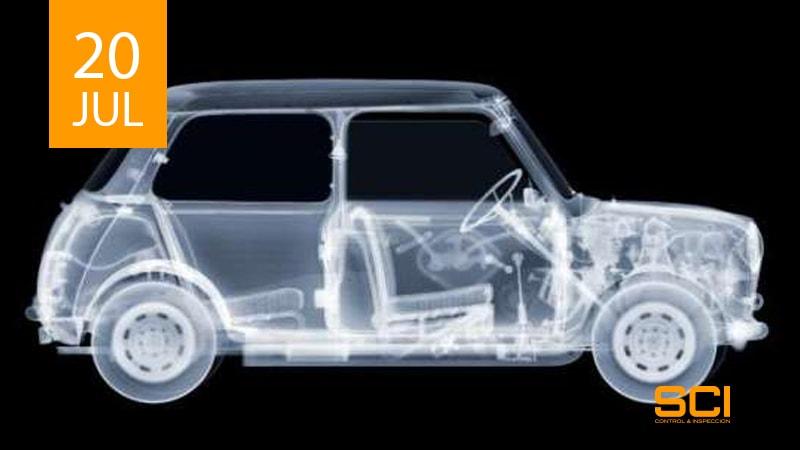 radiografia industrial para piezas de automovil
