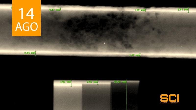 radiografia industrial digitial