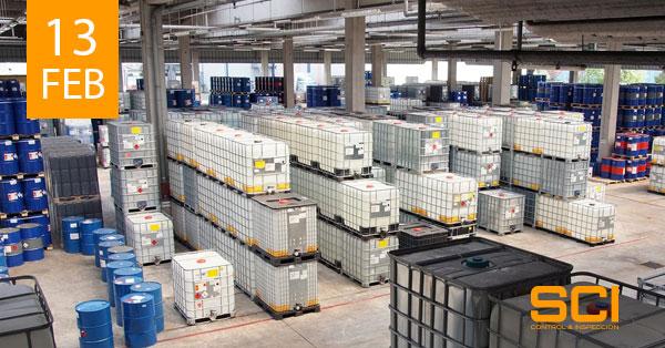Inspecciones de Almacenamientos de Productos Químicos