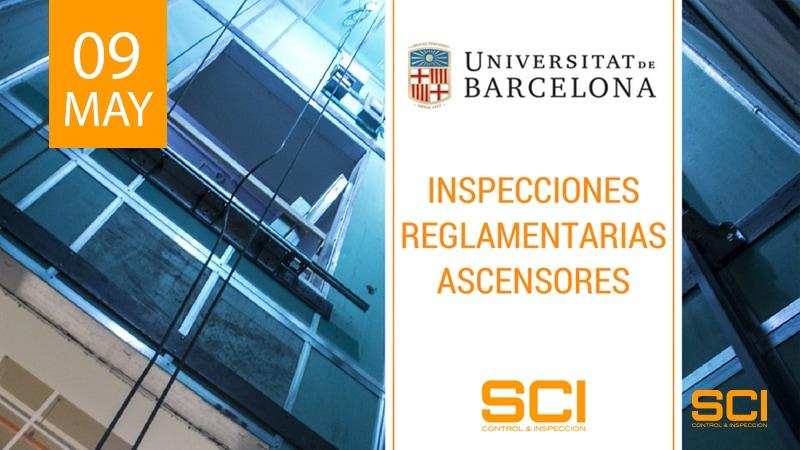 inspecciones reglamentarias de ascensores en barcelona