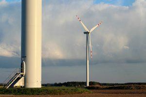 inspección en sector eólico