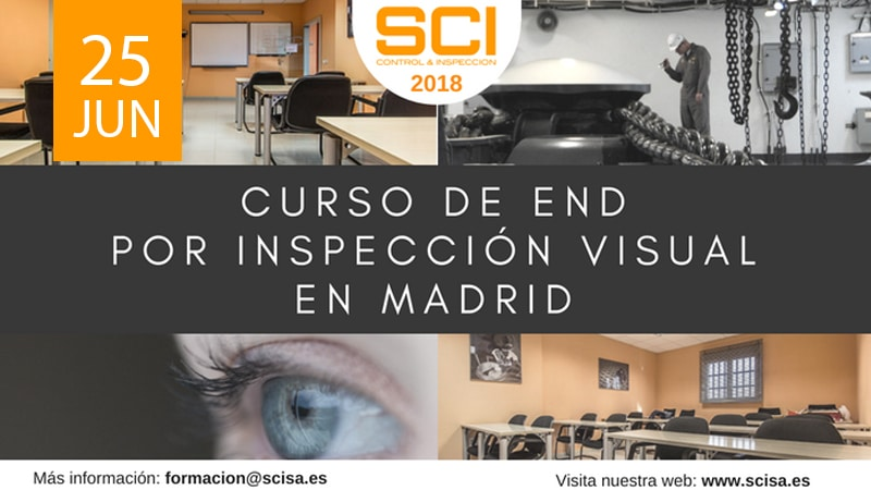 curso END inspección visual en Madrid