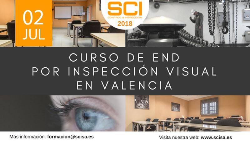 Curso de Ensayos No Destructivos por Inspección Visual en Valencia