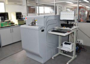 Equipo de espectrometría para análisis químicos