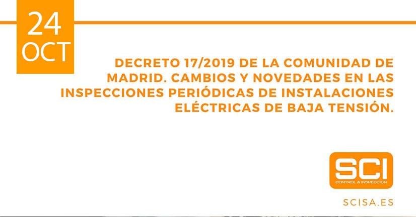 inspecciones periódicas de instalaciones eléctricas de baja tensión