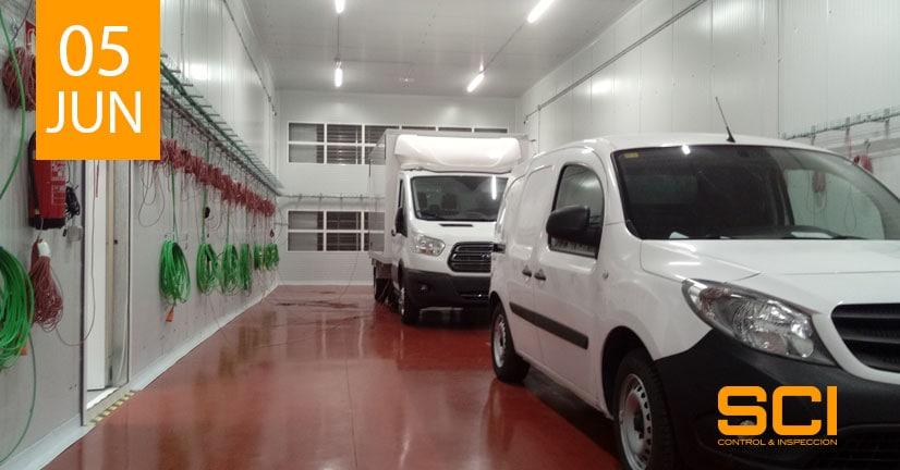 Inspección de Vehículos de Transportes de Mercancías Perecederas