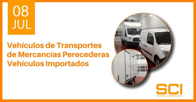 Vehículos de Transportes de Mercancías Perecederas