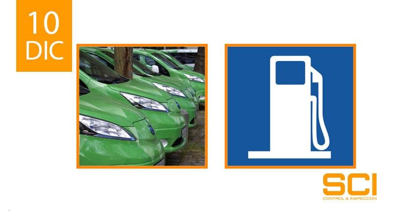 inspección de vehículos propulsados con gas natural comprimido (gnc)