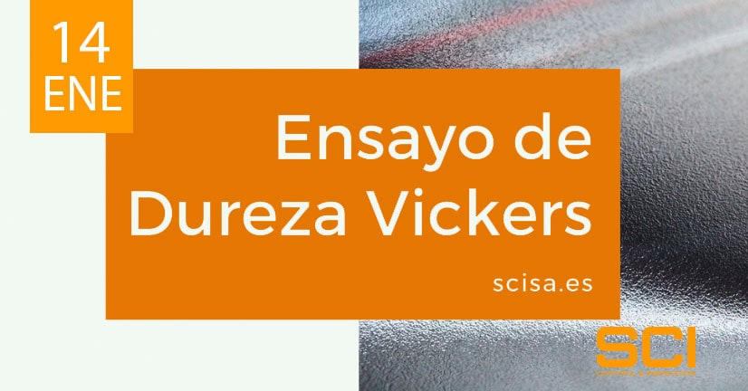 ensayo de dureza Vickers