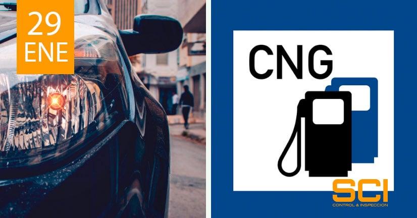 inspección de vehículos propulsados con gas natural comprimido