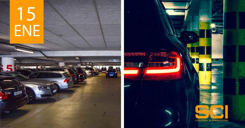 seguridad contra incendios en garajes