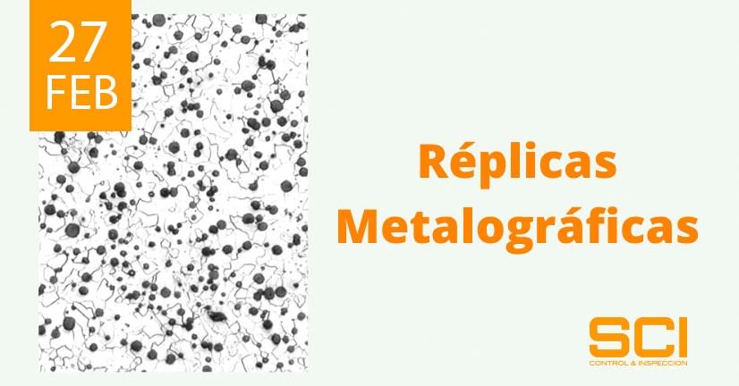 réplicas metalográficas
